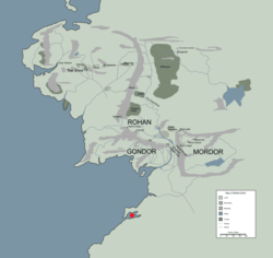 UMBAR location map in middle earth.PNG